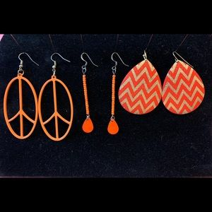 Three Pairs of Earrings Perfect for Fall